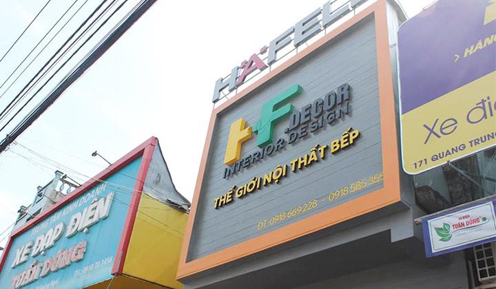 Giới thiệu HF Decor tọa lạc tại 169 Quang Trung, Quảng Ngãi