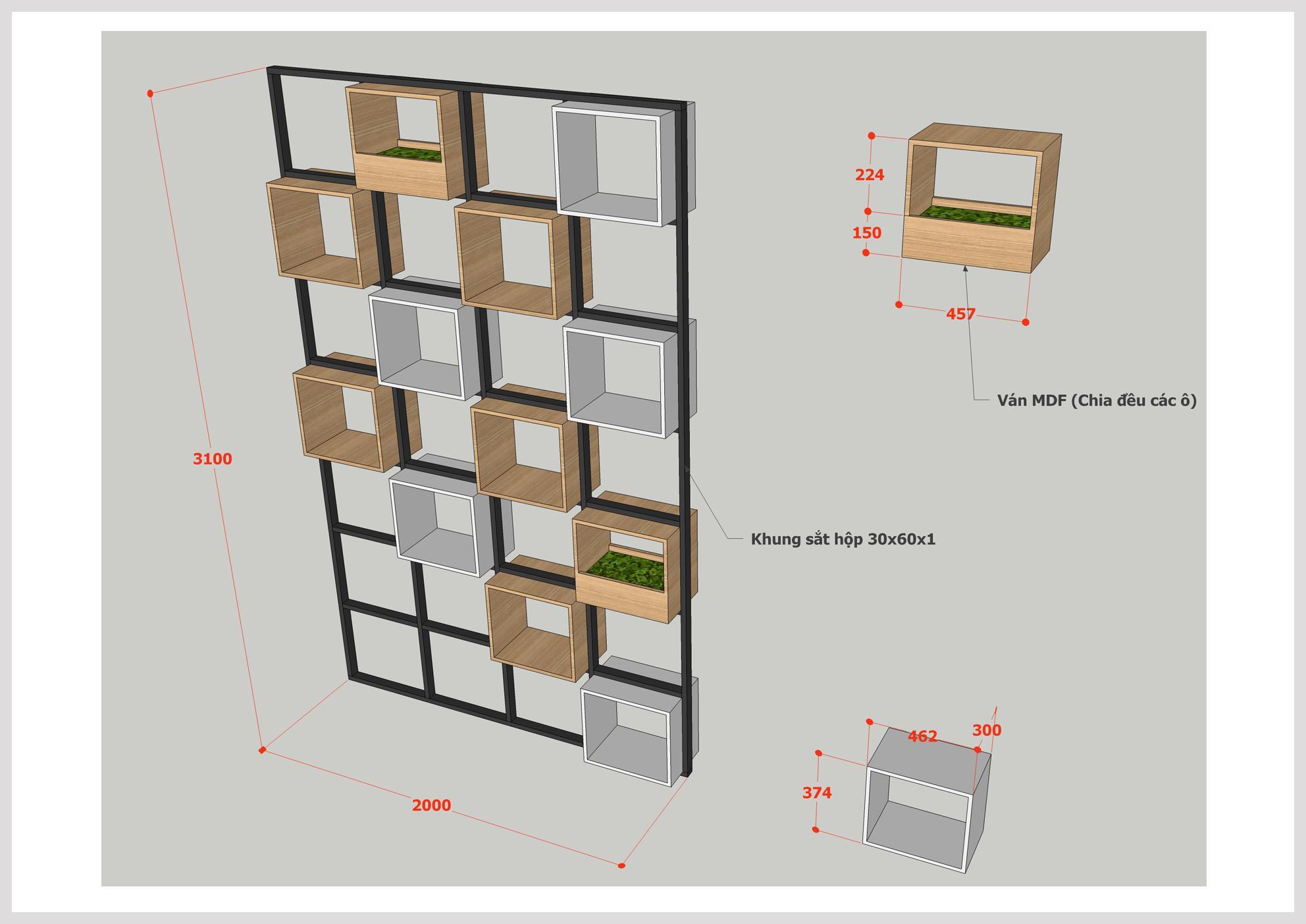 Bản vẽ thiết kế chính là sự chuyên nghiệp tại HF Decor Quảng Ngãi
