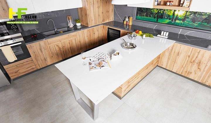 HF Decor Quảng Ngãi có quy trình làm việc chuyên nghiệp sẽ giúp bạn có một gian bếp tuyệt hảo
