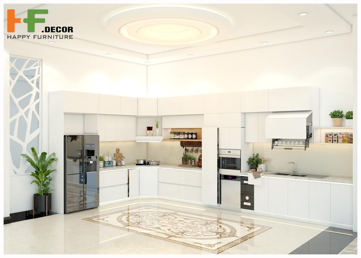 Dịch vụ thiết kế nội thất nhà bếp tại HF Decor Quảng Ngãi luôn làm việc theo quy trình chuyên nghiệp