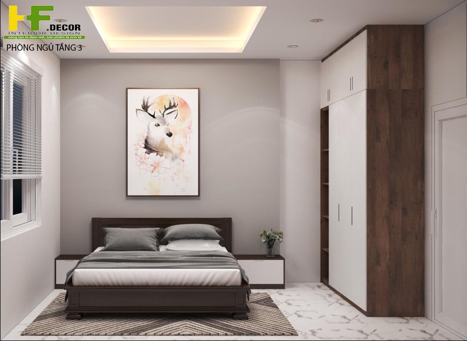 Phòng ngủ luôn là nơi giúp bạn có một giấc ngủ bình yên sau một ngày làm việc vất vả