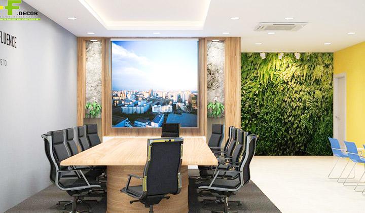 Văn phòng mới hay cũ điều nên chọn thiết kế nội thất văn phòng tại HF Decor Quảng Ngãi