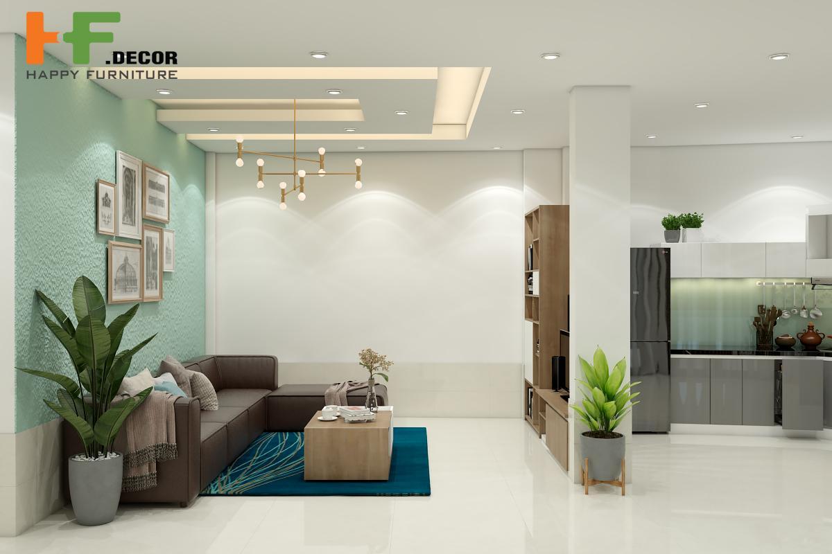 Thiết kế thi công nội thất rời tại HF Decor Quảng Ngãi phù hợp với mọi không gian