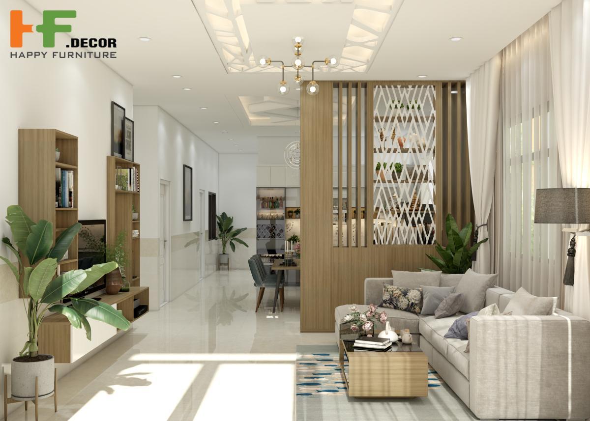 HF Decor Quảng Ngãi cung cấp bảng thiết kế nội thất phòng khách sống động nhất