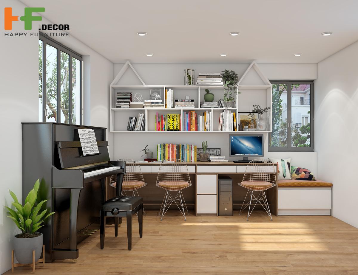 Sử dụng nội thất đa năng cũng là cách tiết kiệm diện tích